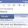 Facebook's new version for BlackBerry smartphones users