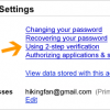 Protect your gmail account with 2-step mobile verification