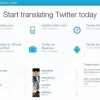 Get Twitter Translated In Your Own Language