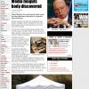 Rupert Murdoch, the controversial media mogul, has found dead in his garden?