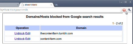 Use Google's New Chorme Extension & Block All Unwanted Sites
